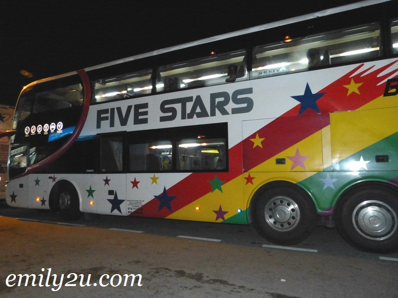 Travel From Ipoh to Singapore By Express Bus
