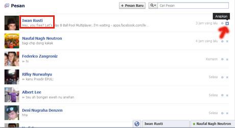 Aep Saepuloh Cara Menghapus Pesan Facebook 2