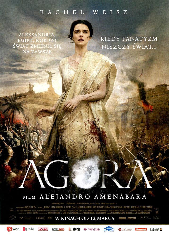 Ulotka filmu 'Agora (przód)'