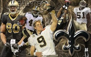 New Orleans Saints Team Wallpaper
