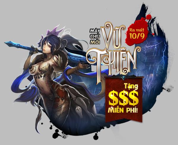 Tiên Kỷ ra mắt máy chủ thứ 21 Vũ Thiên 1