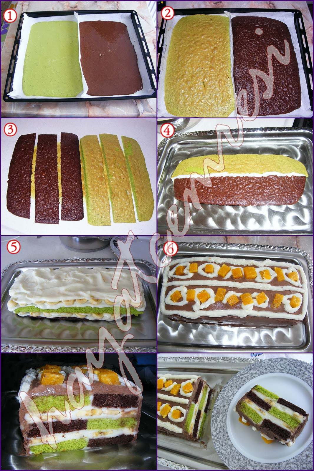 Damalı Baton Pasta