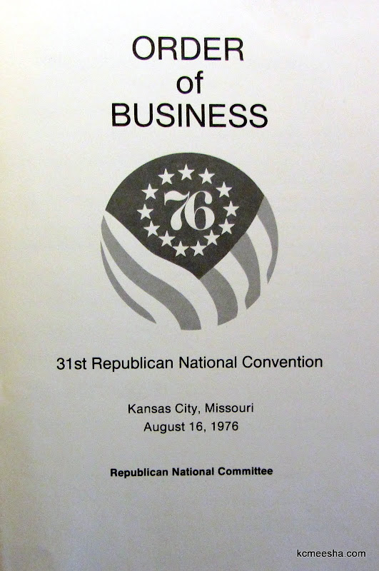 Republican National Convention of 1976 in Kansas City, MO