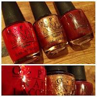 OPI nail varnish polish Bond James
