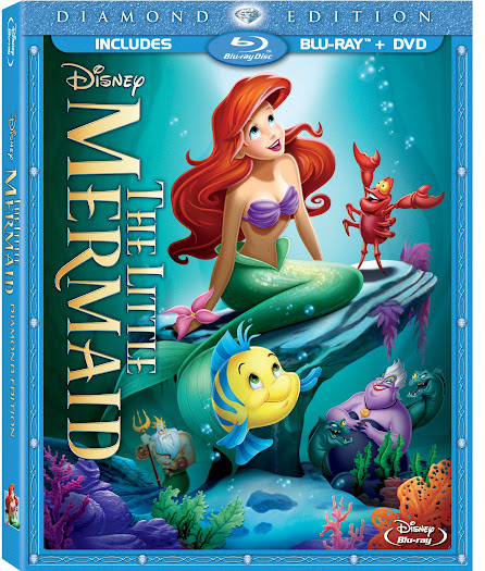 The Little Mermaid Diamond Edition Blu-ray Combo Pack