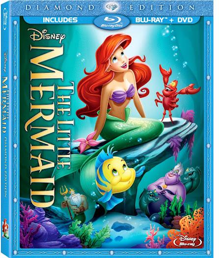 The Little Mermaid Diamond Edition Blu-ray Combo Pack