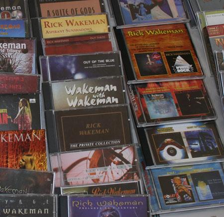 discos de Rick Wakeman