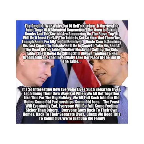 John McCain calls Putin Hitler http://rhymemepoet.blogspot.com/2014/04/john-mccain-calls-putin-hitler.html...