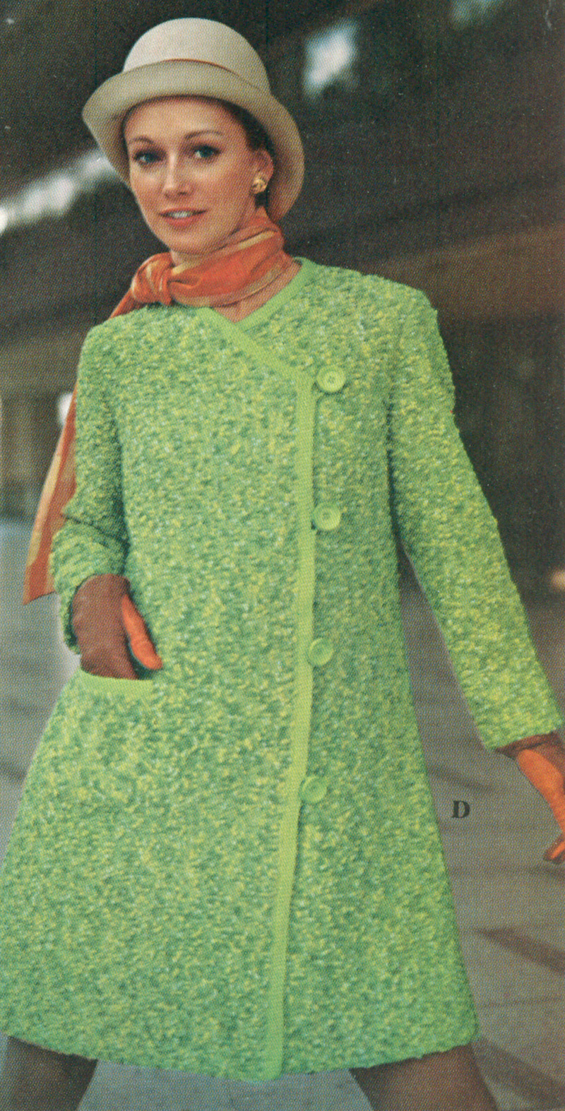 Vintage Bulletin, the Vintage Clothing blog: Spring has Sprung! Crochet or Kn...
