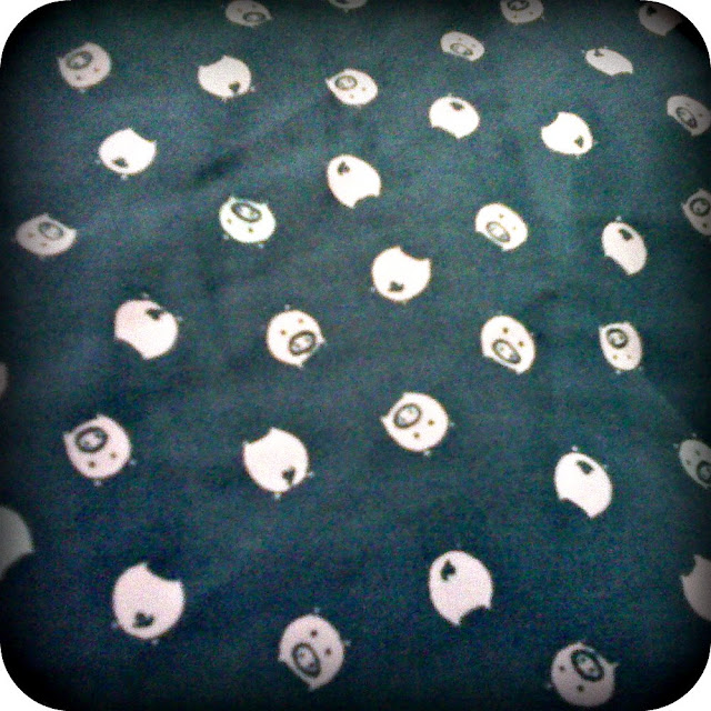 tiny piggy fabric