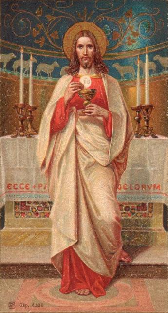 CATHOLICVS: Festividad de Jesucristo, Sumo y Eterno Sacerdote