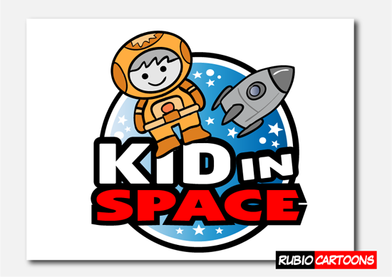 LOGO DESIGN FOR WEIRD MADNESS KID IN SPACE