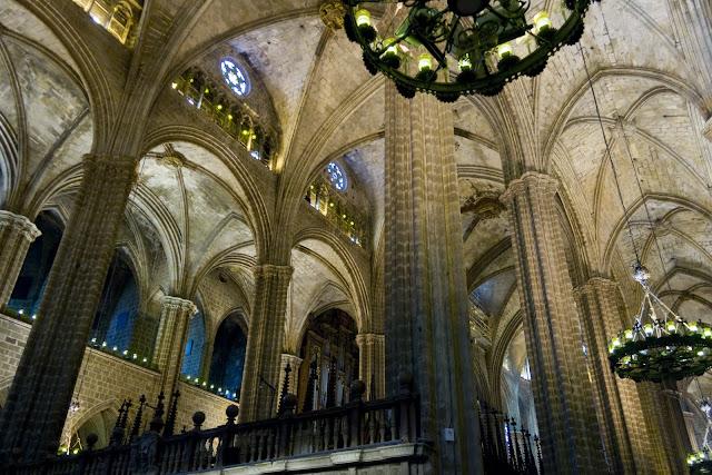 Interior de la Catedral de Barcelona