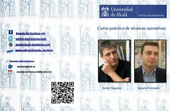 Curso de técnicas narrativas en la Universidad de Alcalá