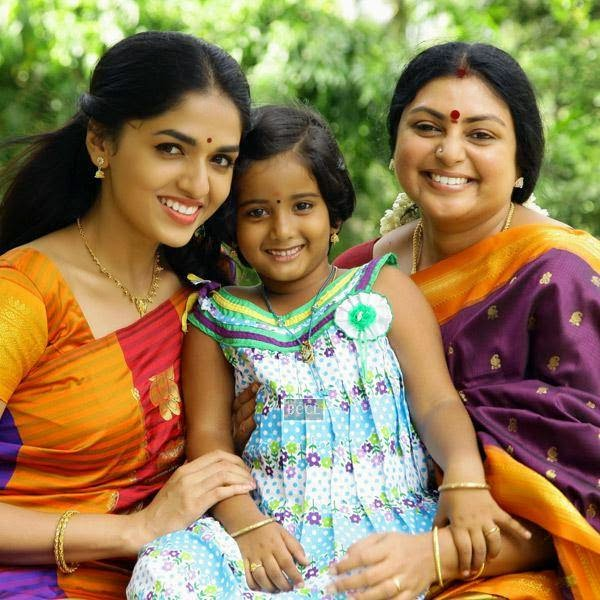Sunaina in a still from the Tamil movie Vanmham.