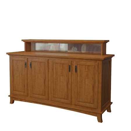 Glasgow Buffet in Como Maple