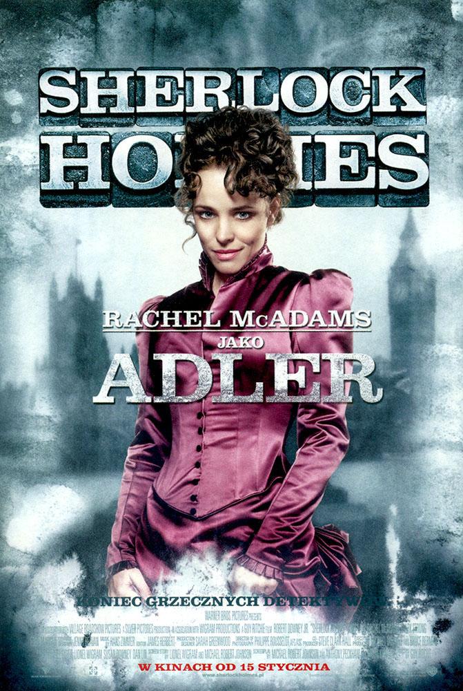 Ulotka filmu 'Sherlock Holmes (przód - wersja D)'