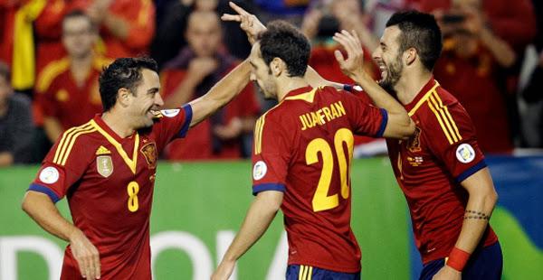 Clasificación Mundial 2014 España - Georgia