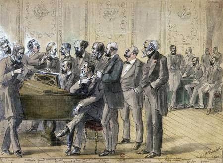 Jurado del Conservatorio de París