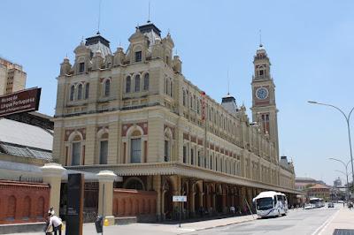 Estação da Luz - Museu da Língua Portuguesa - São Paulo - Brasil