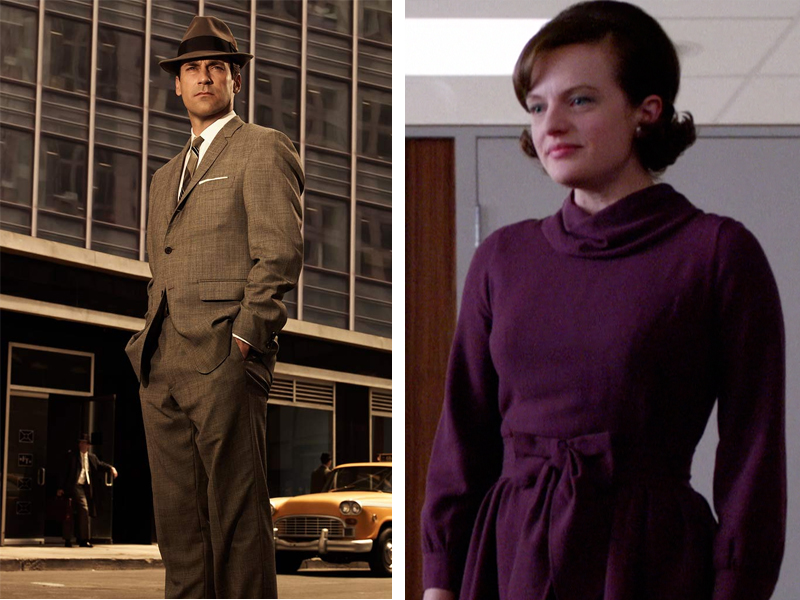 Don Draper and Peggy