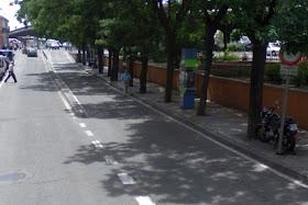Avenida de Peña Prieta hace unas semanas