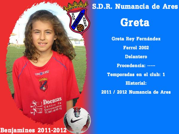 ADR Numancia de Ares. Benxamíns 2011-2012. GRETA.