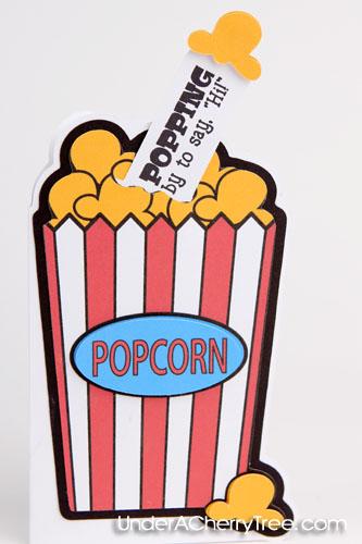 Piece Of Popcorn Clipart It's a pop-up popcorn!