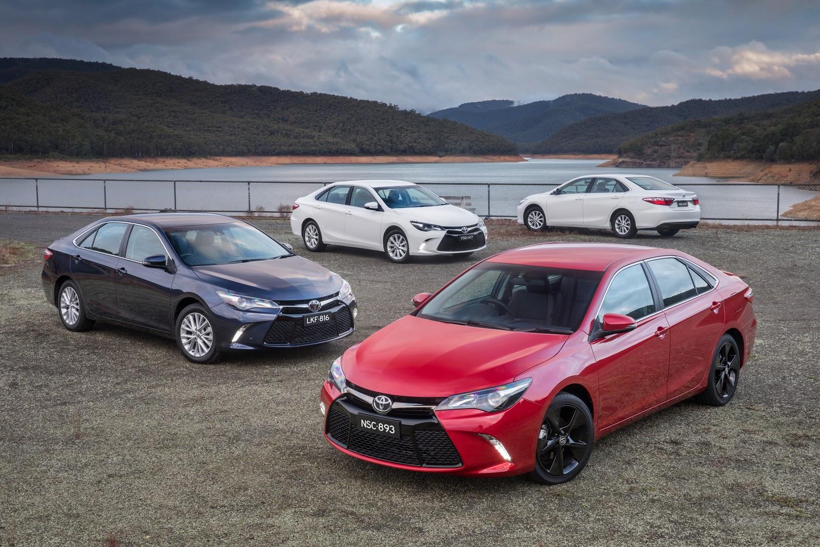 Toyota Camry được xem là những chiếc sedan tốt nhất thế giới