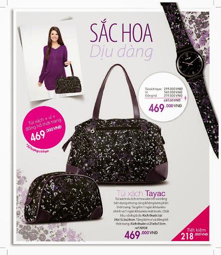 Túi xách du lịch Sophie Tayac - N908