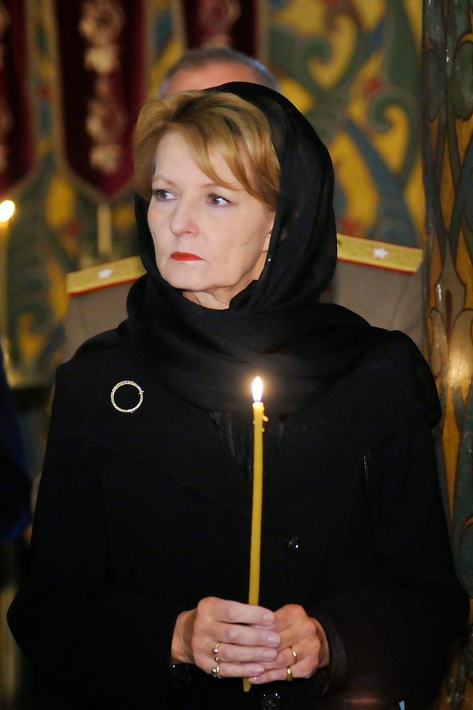 Principesa Moștenitoare Margareta și Principele Radu la Catedrala Mănăstirii Curtea de Argeș, octombrie 2014