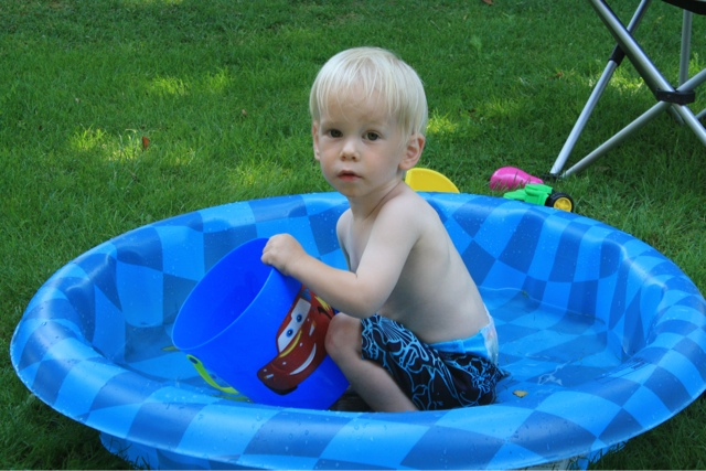 Gone rving twelve days of bliss for Small paddling pool
