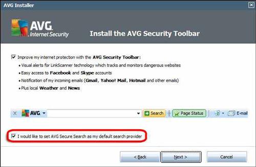 cara install avg install toolbar Cara Setting Firefox untuk Merubah Search Engine/Mesin Pencari Default
