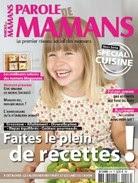 hors série cuisine Parole de Mamans magazine