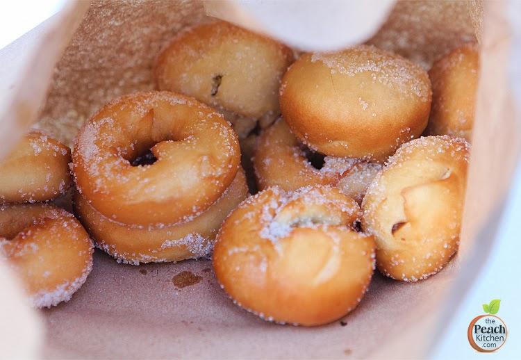 Sugared Street Donut | www.thepeachkitchen.com