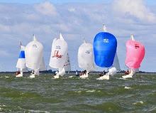 J/22s sailing Netherlands
