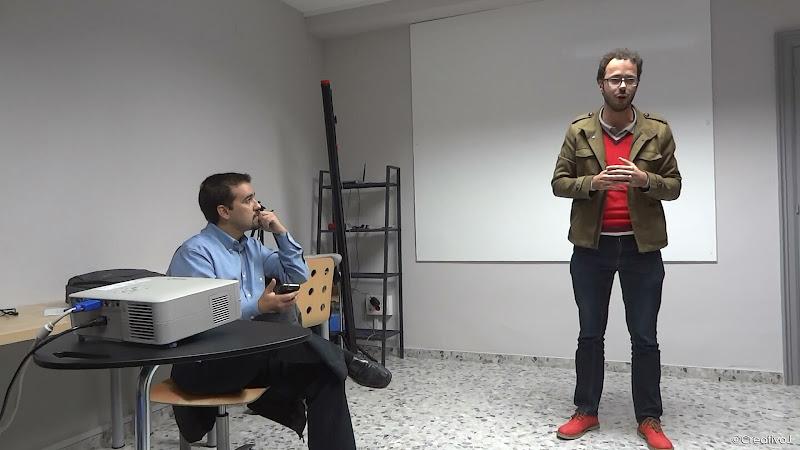 David Molina, Estudio Chicane, networking, presentación, coSfera, córdoba