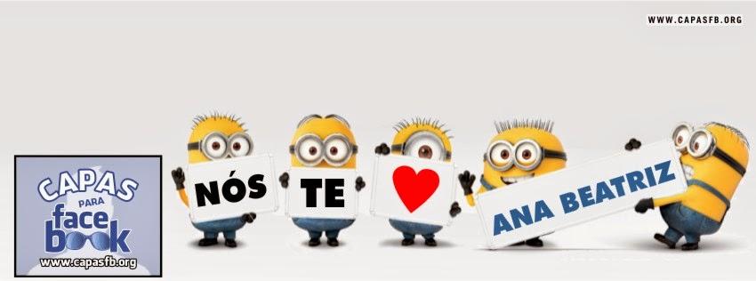 Capas para Facebook Ana Beatriz