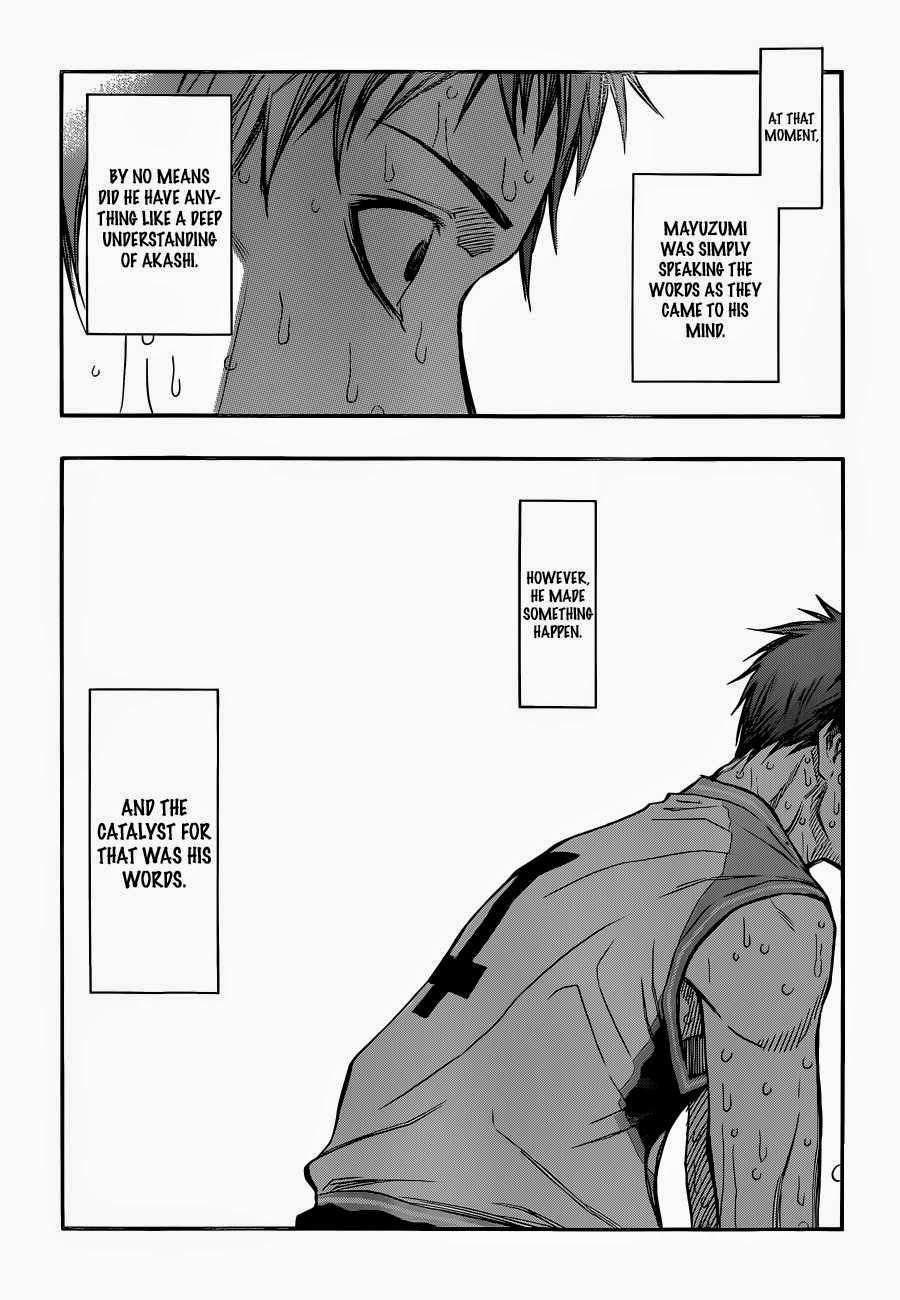 Kuroko no Basket Manga Chapter 266 - Image 05