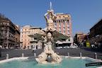Fuente del Tritón de Gian Lorenzo Bernini
