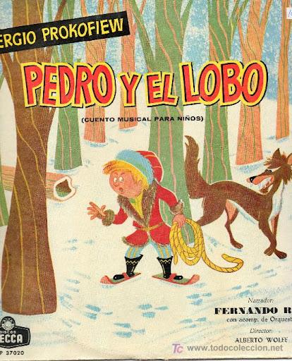 Fernando Rey es el narrador de este cuento: Pedro y el lobo