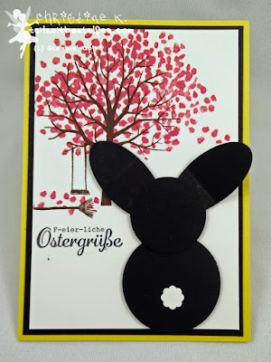 Stampin' Up! Ostern, Easter, Punch Art Bunny, Baum der Freundschaft, Sheltered Tree, Hasenparade, Everybunny