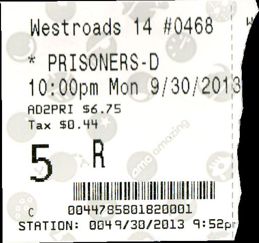 Prisoners ticket