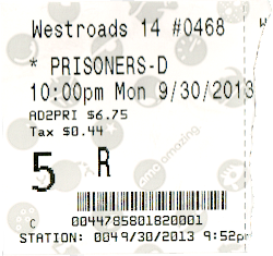Prisoners ticket