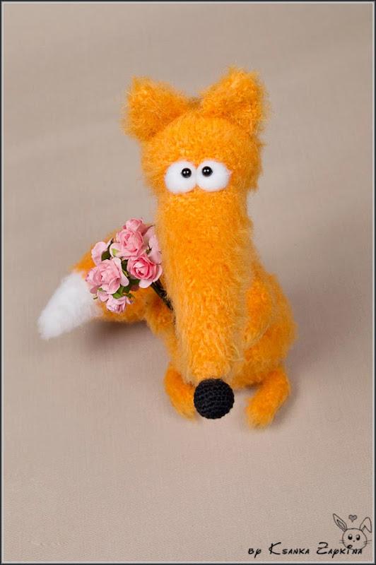 Амигуруми, вязаные игрушки, игрушки спицами, игрушки крючком, вязаная лисица, лисица крючком, Amigurumi, crocheted toys, Knitting toys, crochet fox