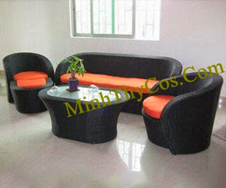 Rattan Sofa Set-MT113