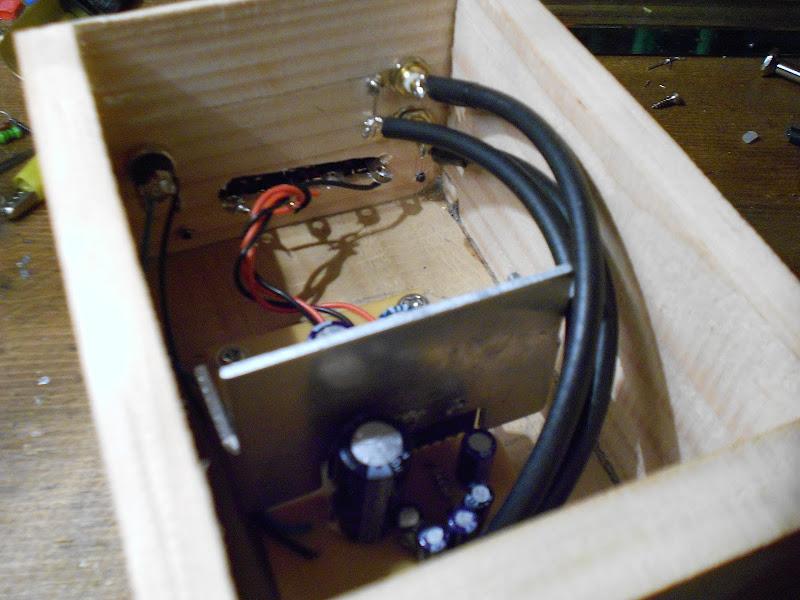 TA8207K Stereo,Costruzione. DSCN0633