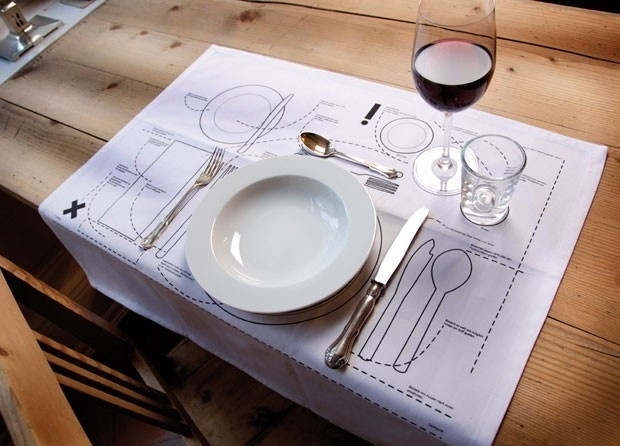 Cheat Sheet Place-mat