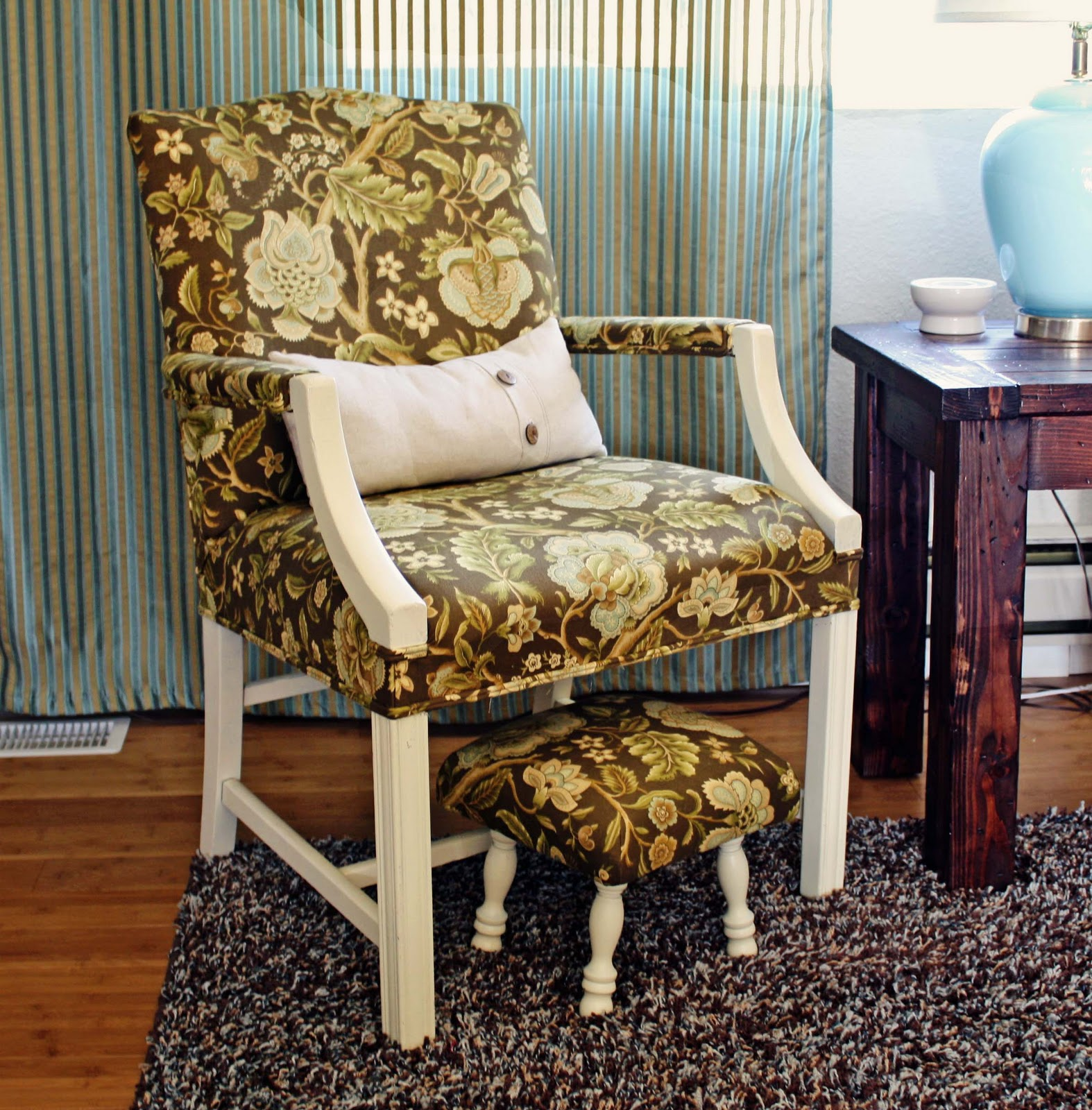 running with scissors upholstered footstool ballard design knock upholstered footstool ballard design knock off