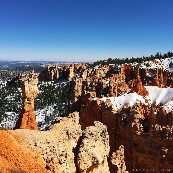 Bryce Canyon Utah (11 Beautiful Canyons in the US You Must See in Your Lifetime).